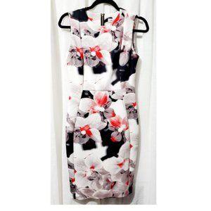 Floral Sheath/Bodycon Dress
